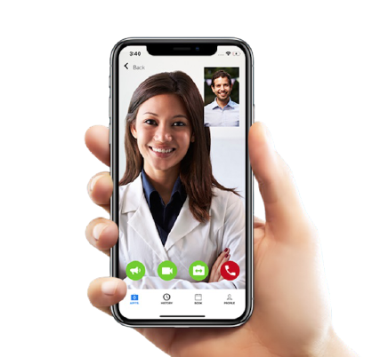 Telemedicine on iPhone