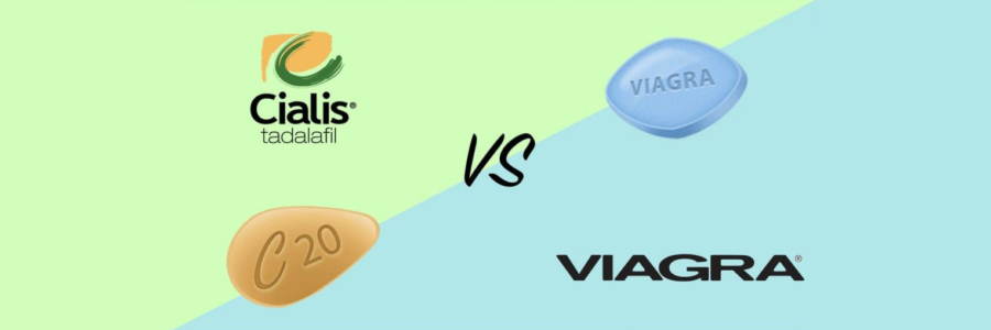 viagra vs cialis. What is the difference?
