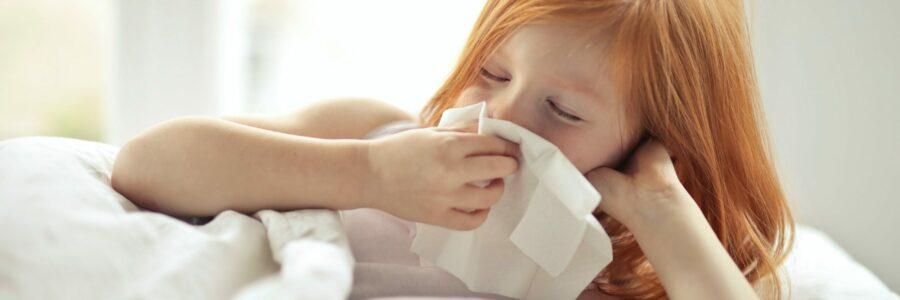 flu symptoms in kids